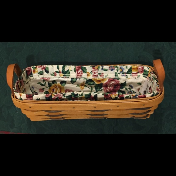 LONGABERGER Cracker Basket, Fabric Liners/Inserts